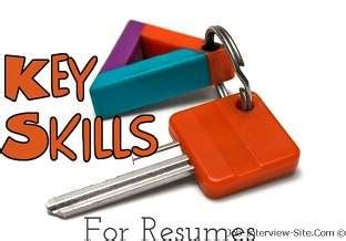 Personal characteristics for a resume